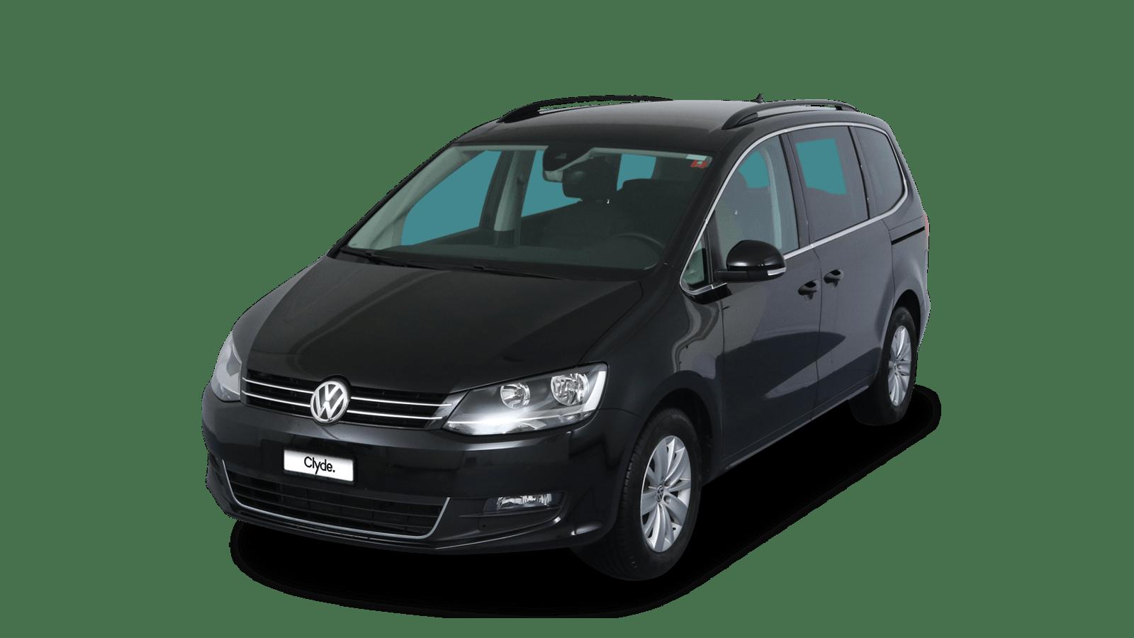 VW Sharan Black front - Clyde car subscription