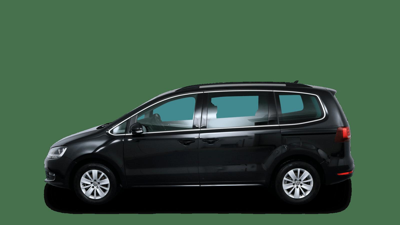 VW Sharan Black back - Clyde car subscription