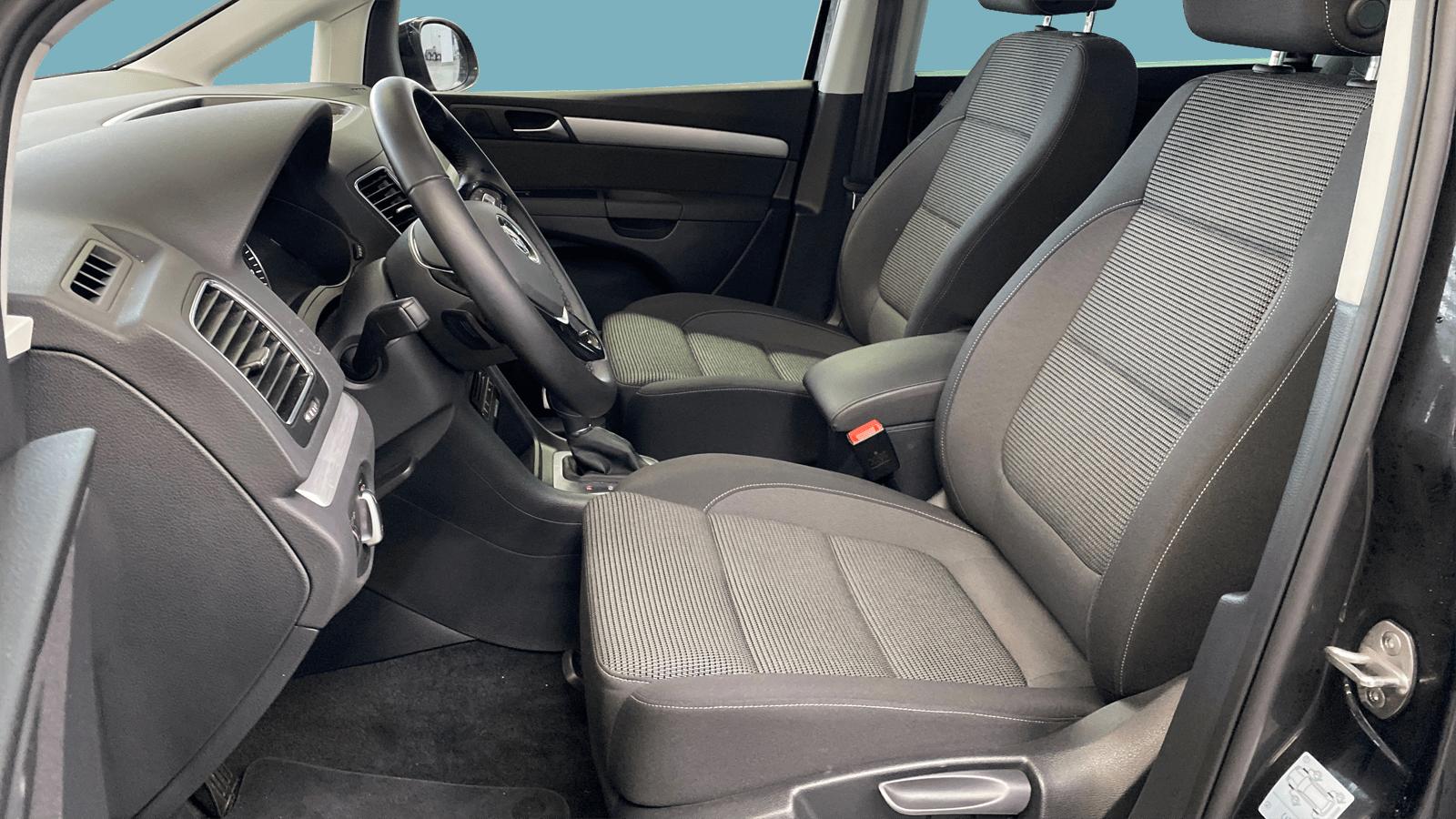 VW Sharan Black interior - Clyde car subscription