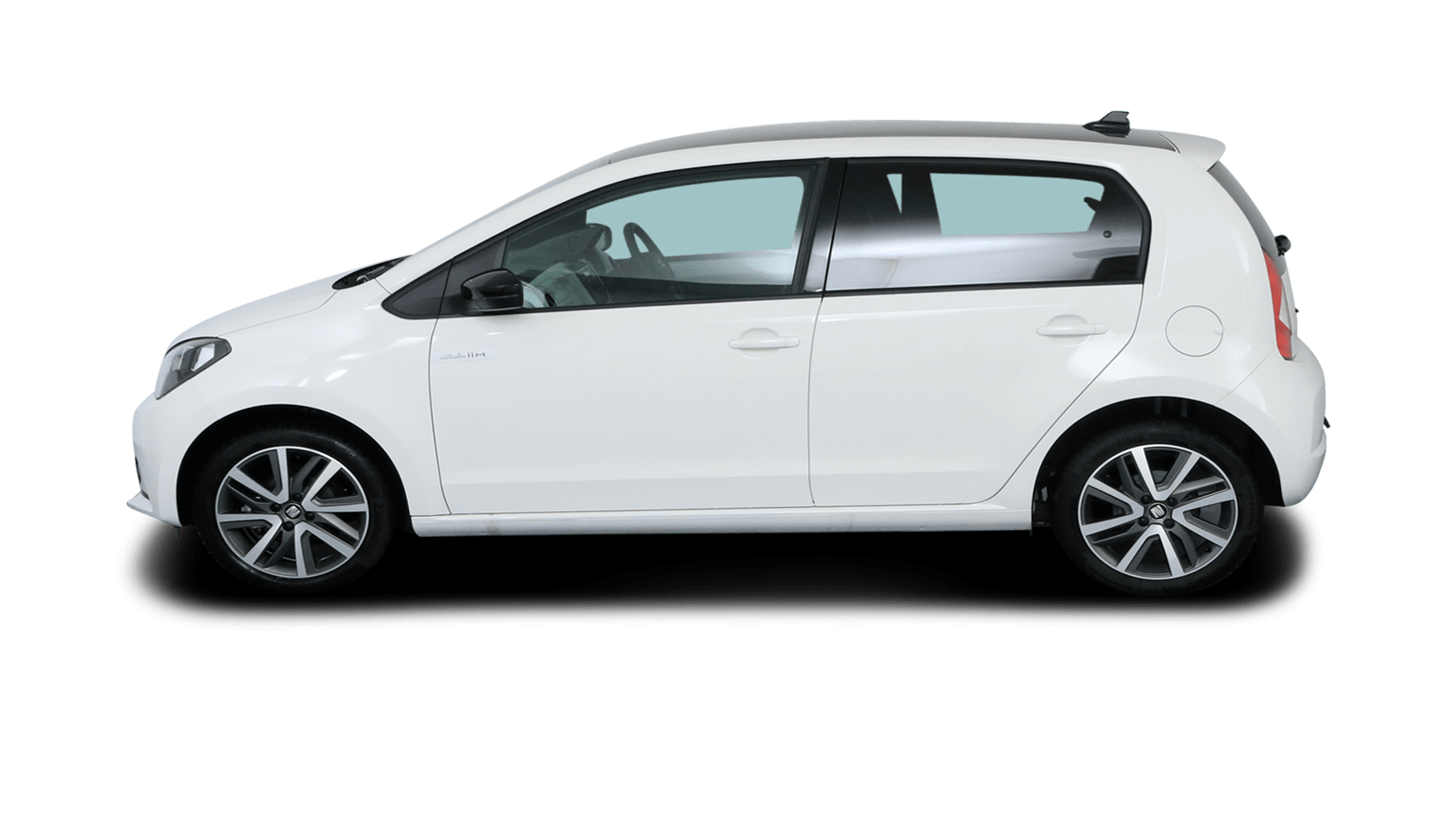 SEAT Mii electric White back - Clyde car subscription