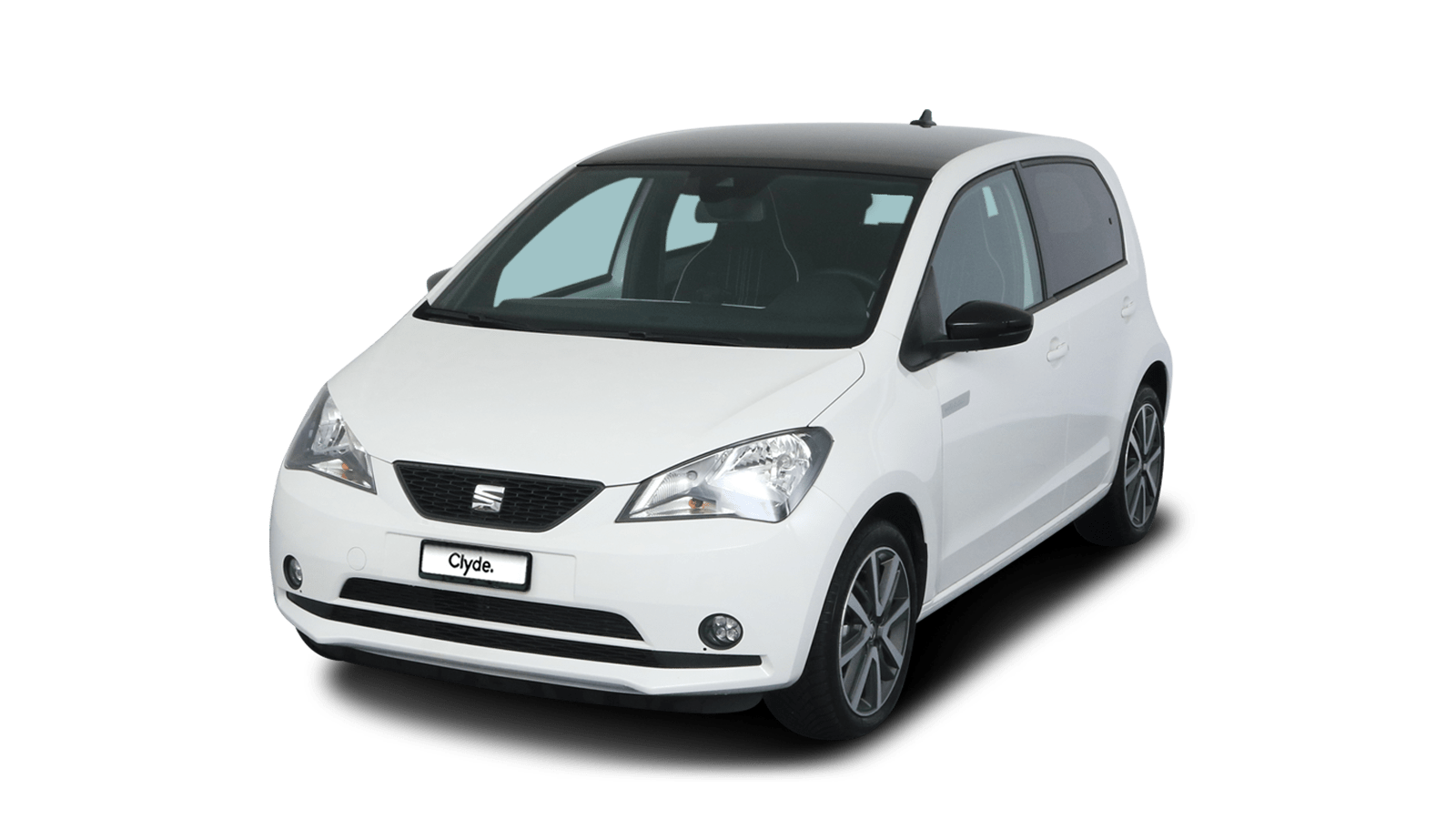 SEAT Mii electric Weiss front - Clyde Auto-Abo