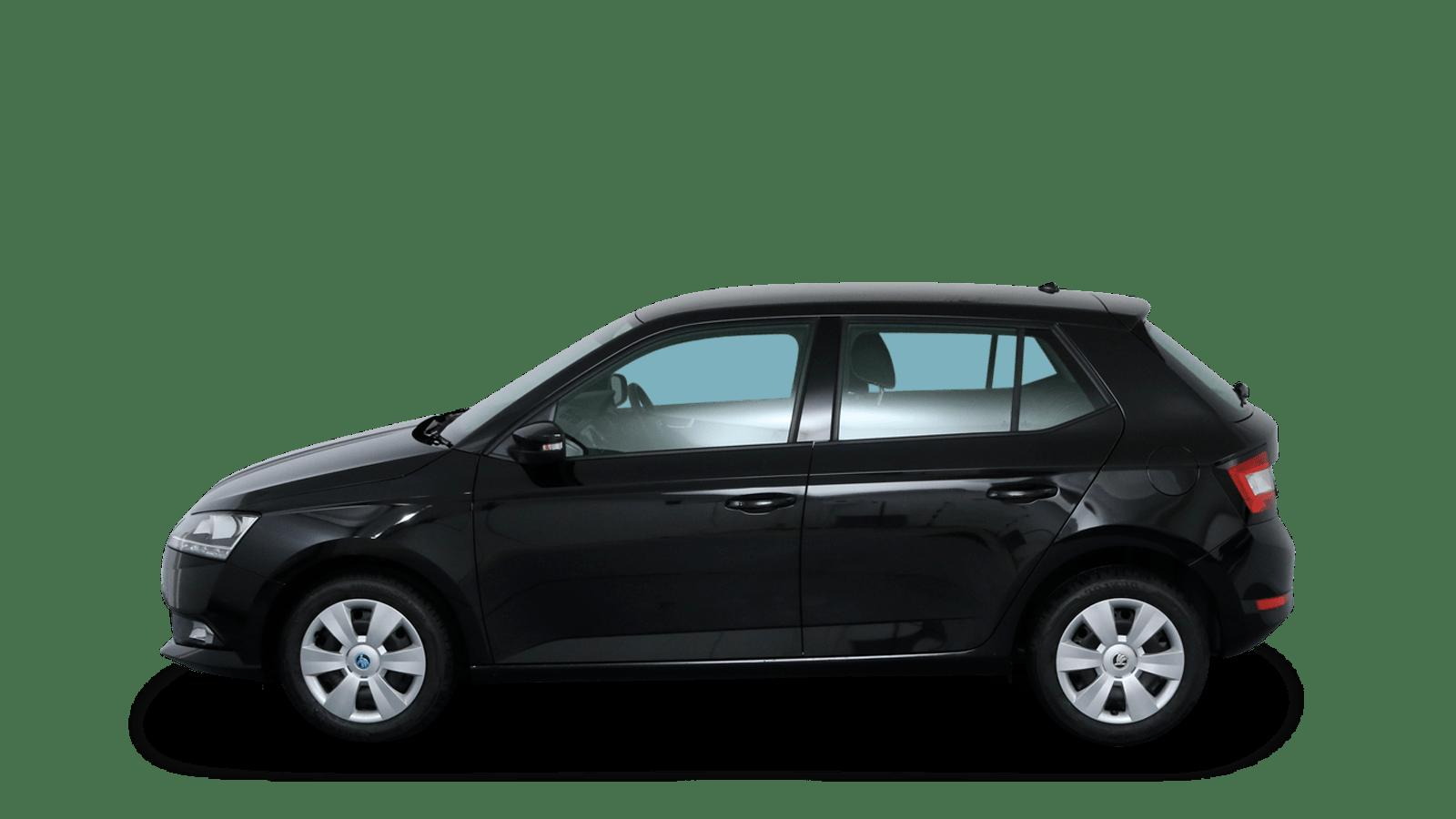 ŠKODA Fabia Black back - Clyde car subscription