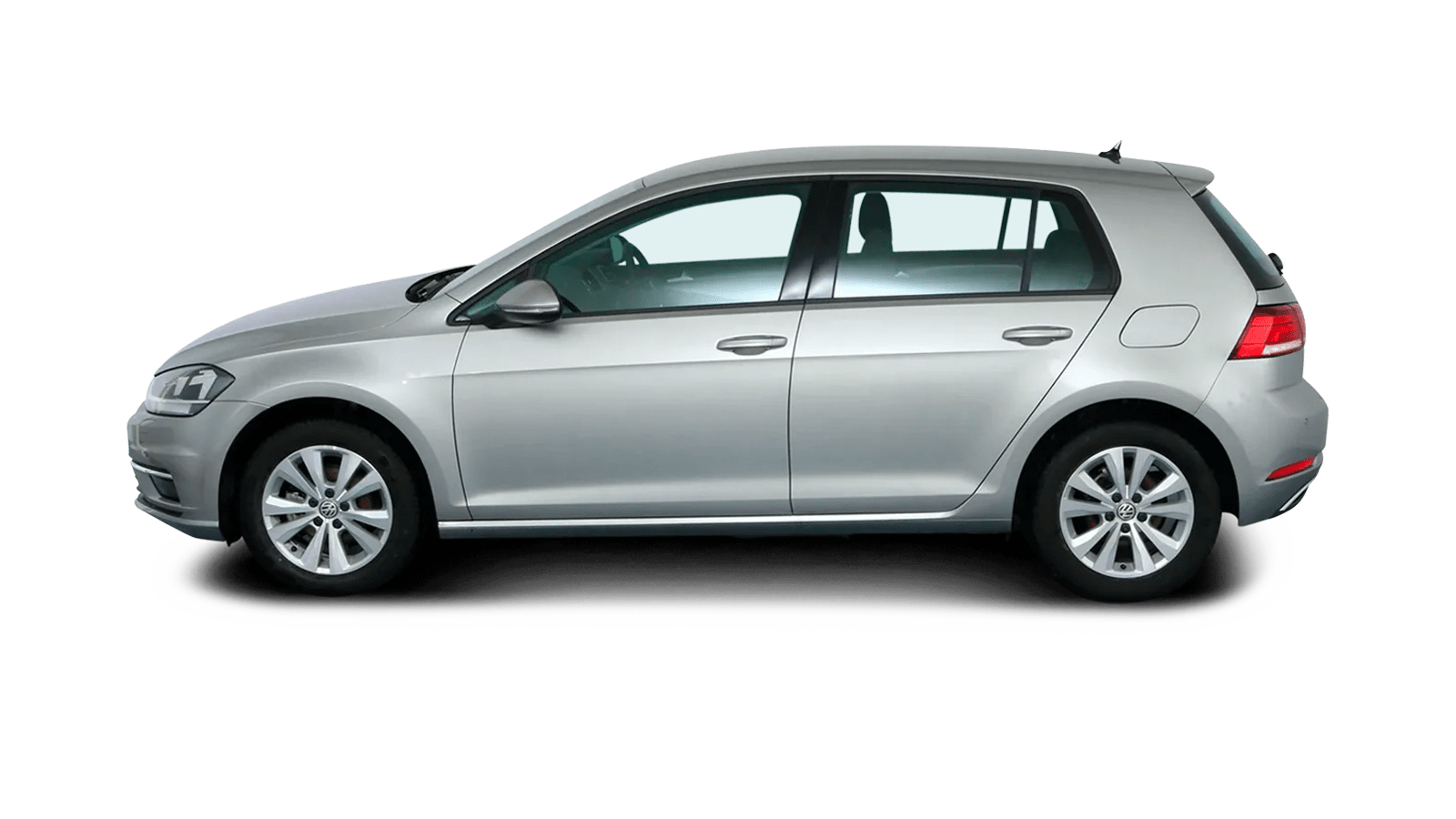 VW Golf Silver back - Clyde car subscription