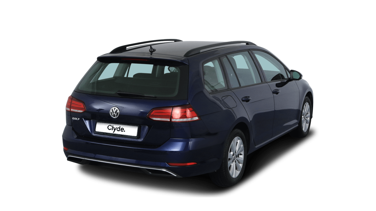 VW Golf Variant Blue front - Clyde car subscription