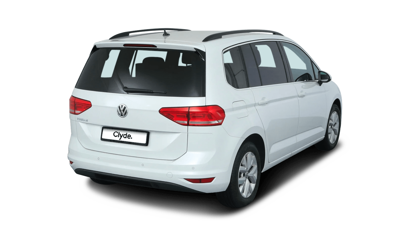 VW Touran Weiss front - Clyde Auto-Abo
