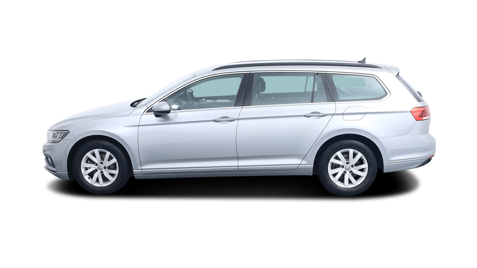 VW Passat Variant Silver back - Clyde car subscription