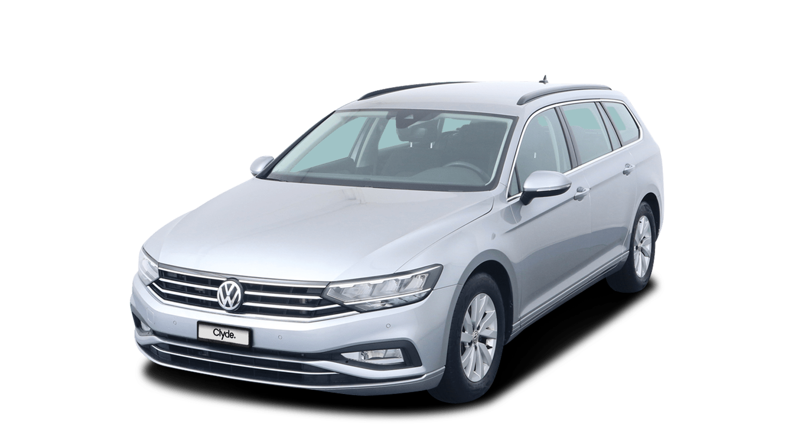VW Passat Variant Silver front - Clyde car subscription