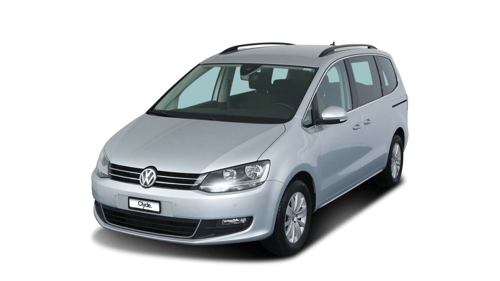 VW Sharan Silber front - Clyde Auto-Abo
