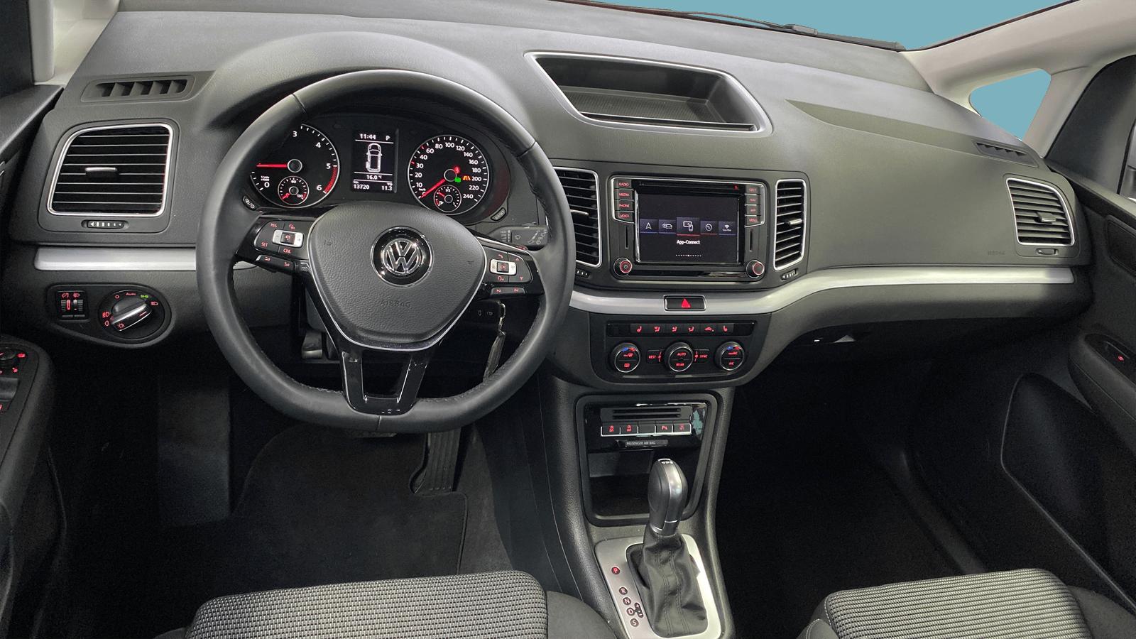 VW Sharan Silver interior - Clyde car subscription
