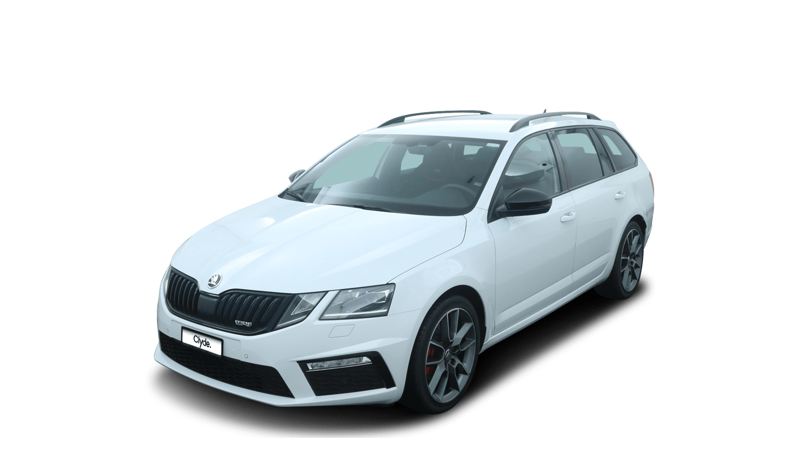 ŠKODA OCTAVIA COMBI RS White front - Clyde car subscription