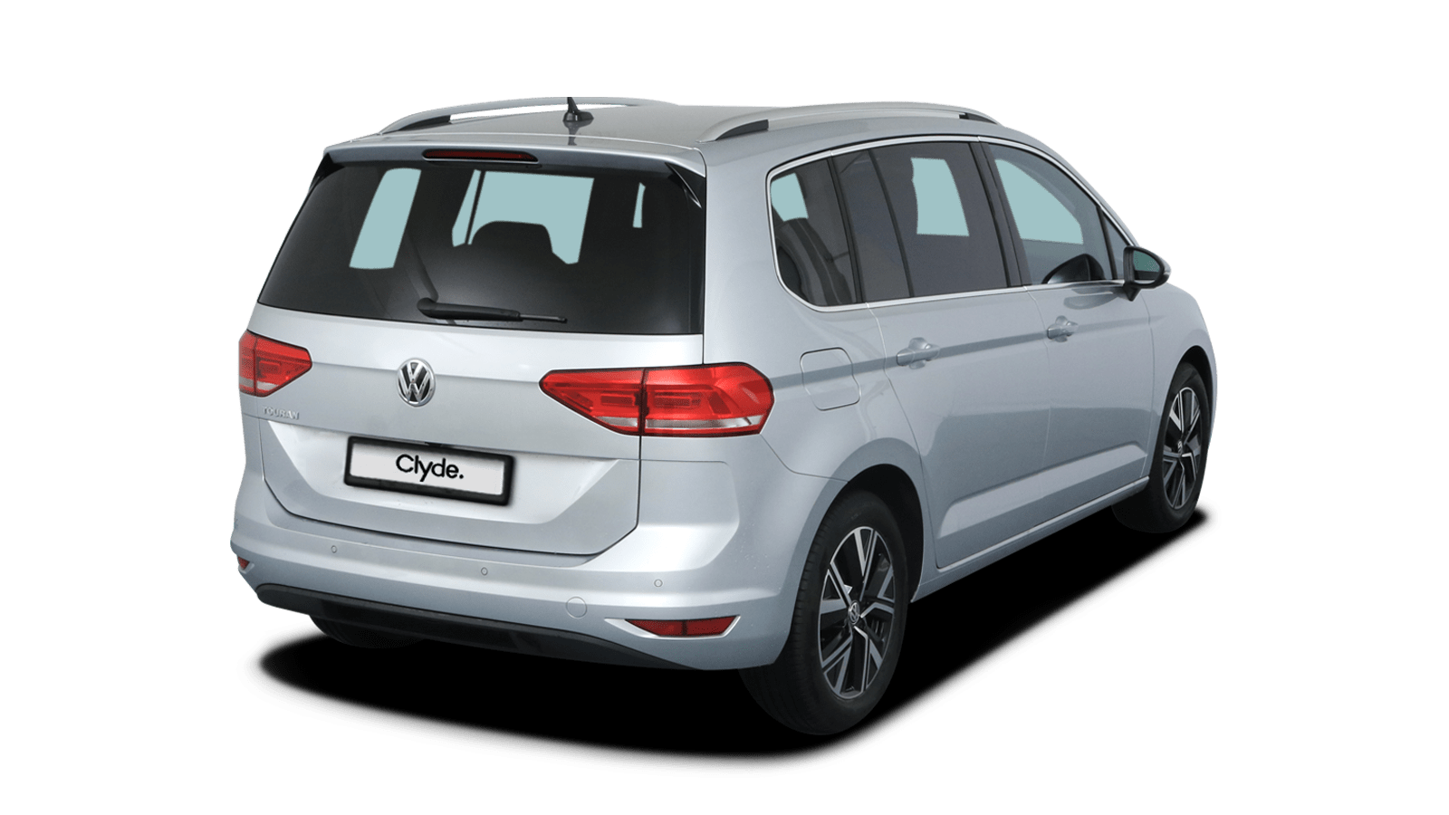 VW Touran Silver front - Clyde car subscription