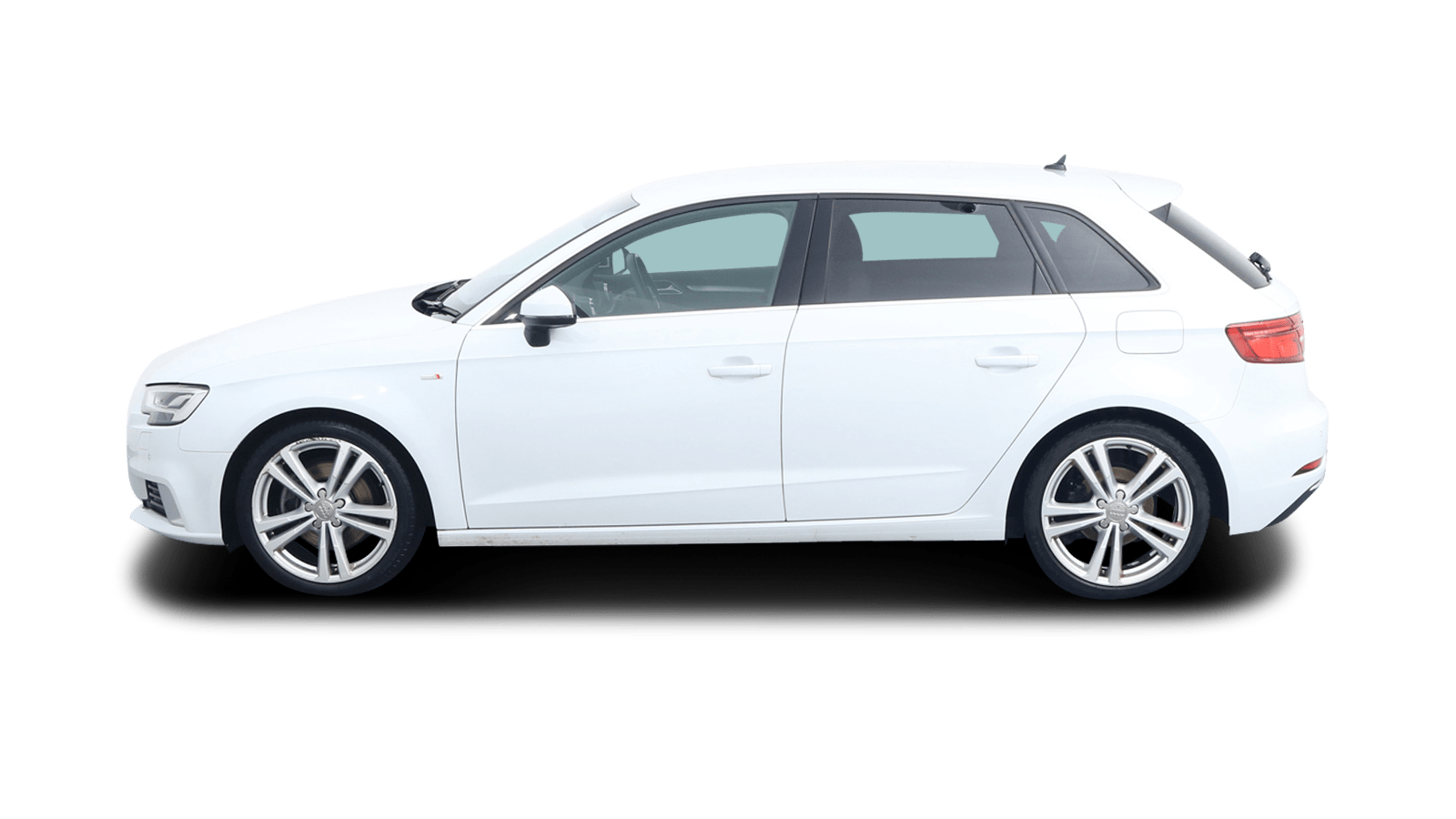 Audi A3 Sportback White back - Clyde car subscription