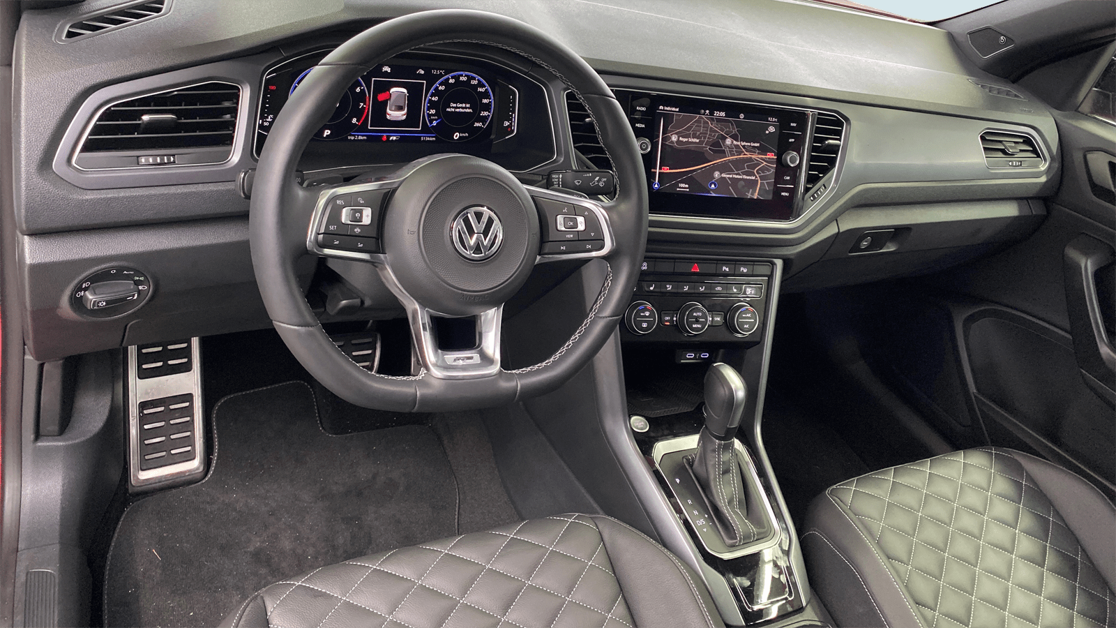 VW T-Roc Cabriolet Red interior - Clyde car subscription