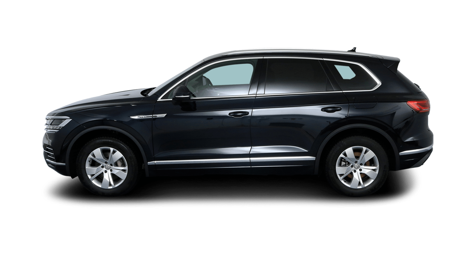 VW Touareg Blue back - Clyde car subscription