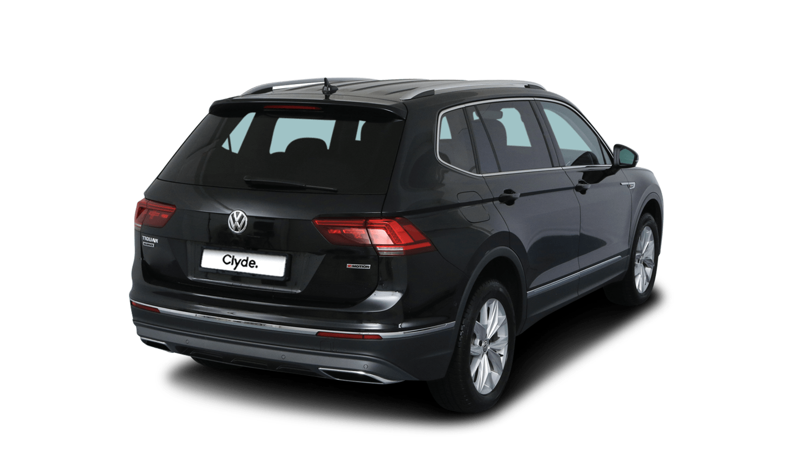 VW Tiguan Allspace Black front - Clyde car subscription