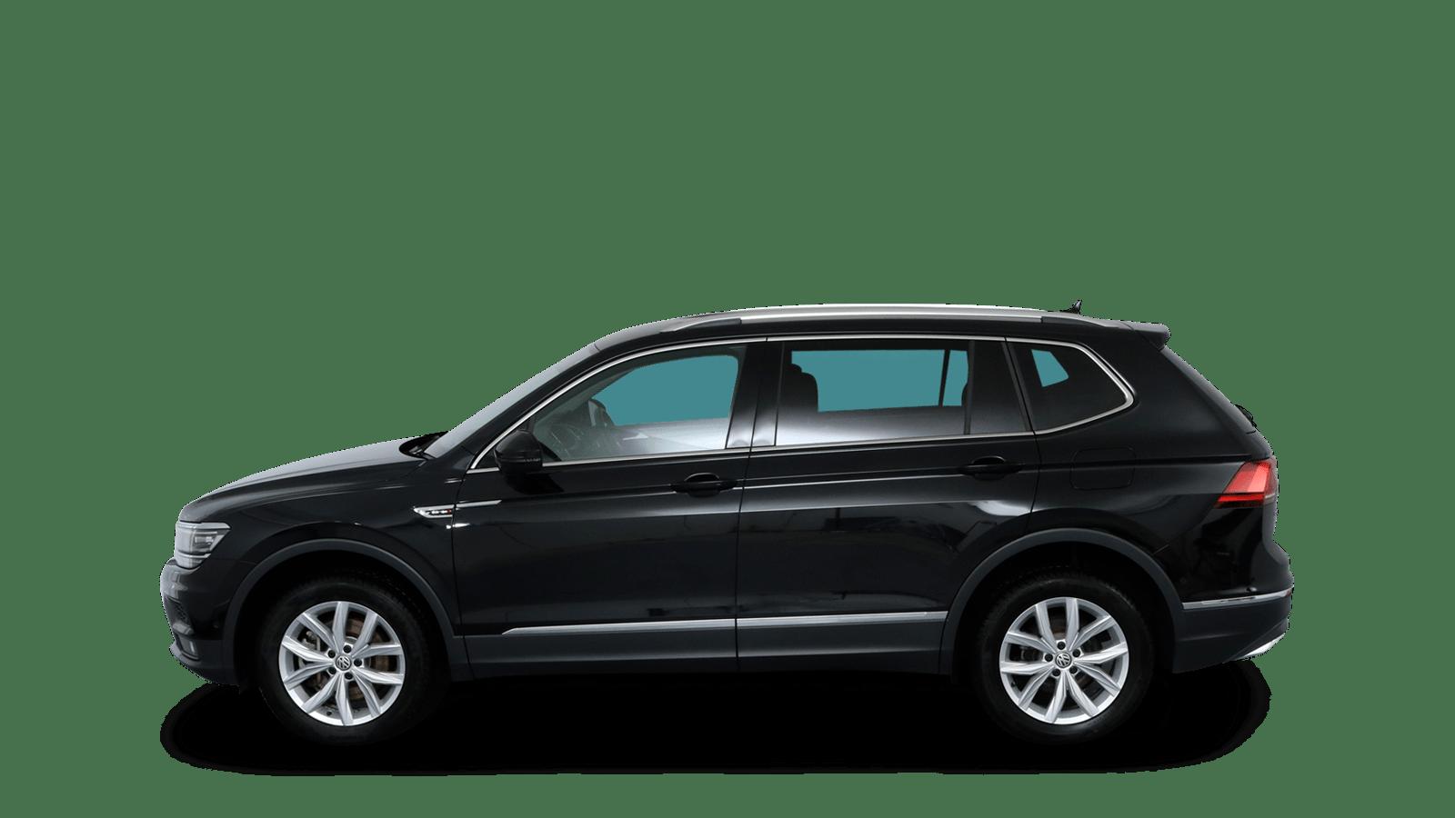 VW Tiguan Allspace Black back - Clyde car subscription