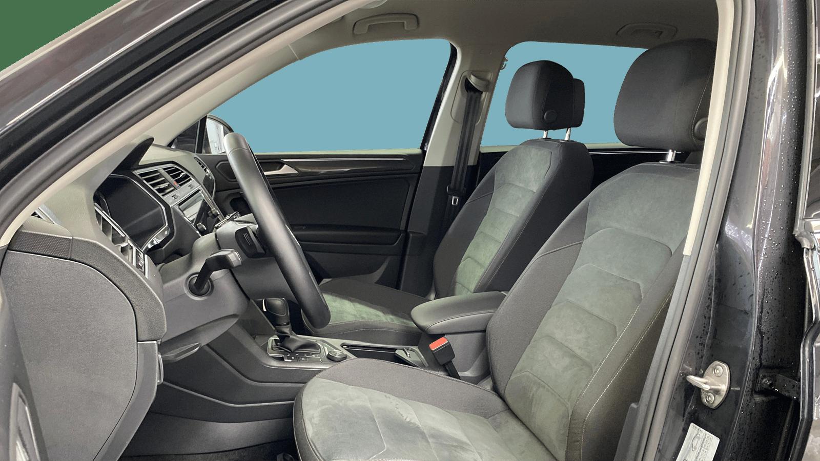 VW Tiguan Allspace Black interior - Clyde car subscription