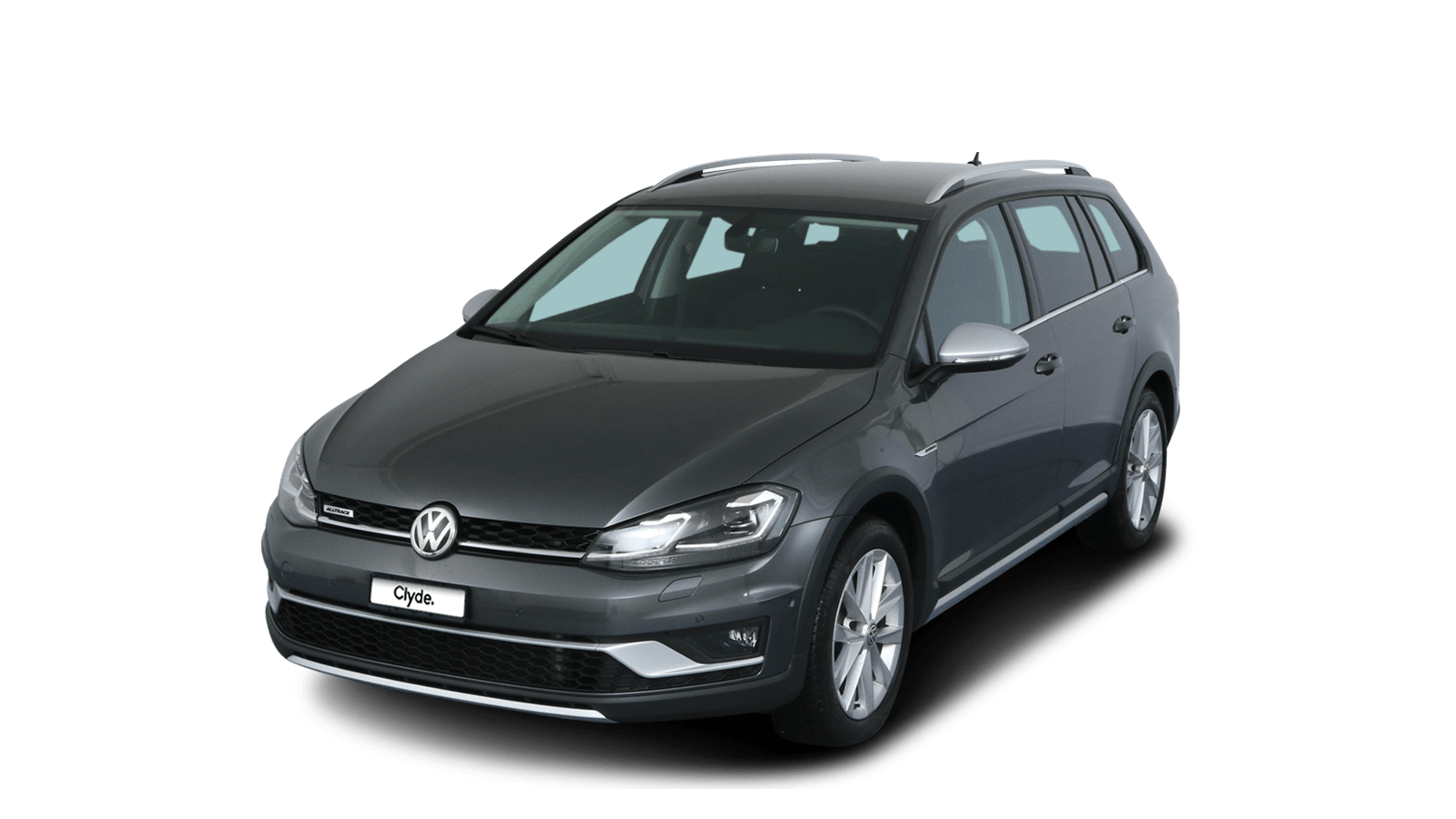 VW Golf Variant Alltrack Grey front - Clyde car subscription
