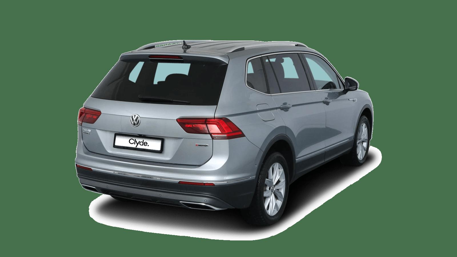 VW Tiguan Allspace Silber front - Clyde Auto-Abo