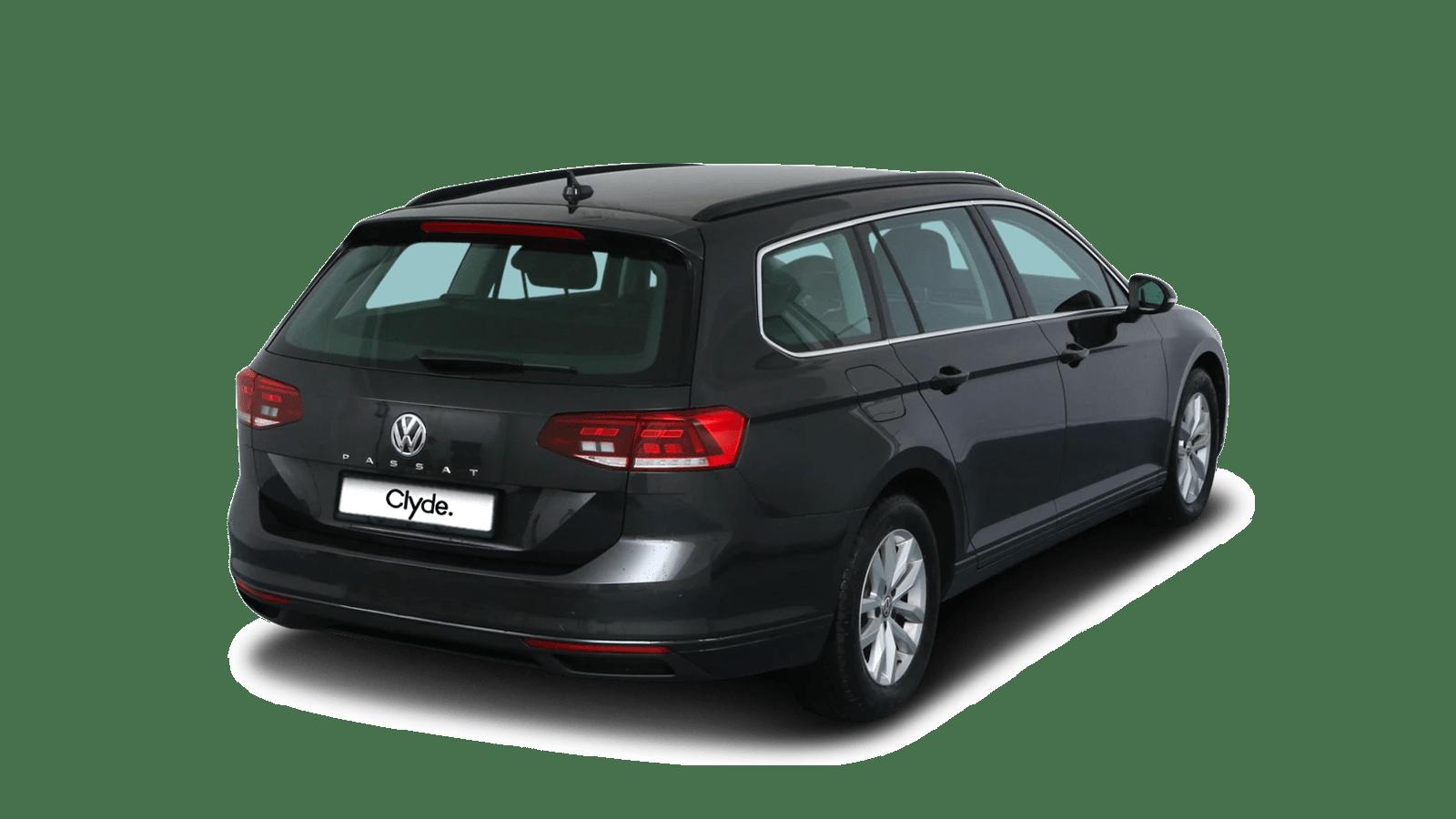 VW Passat Variant Grau front - Clyde Auto-Abo