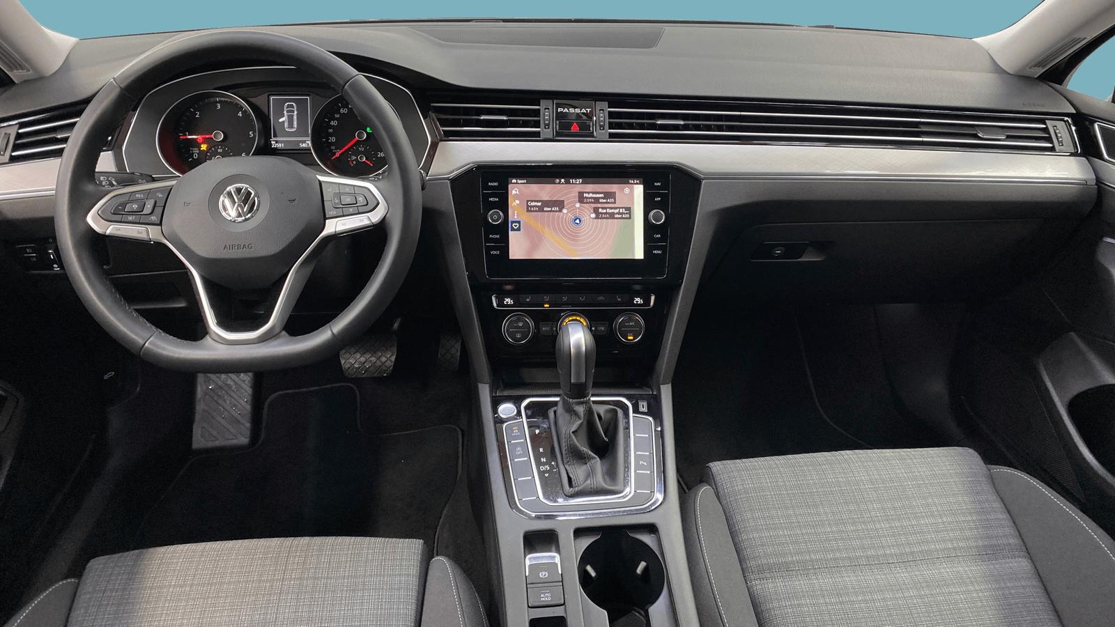 VW Passat Variant Grey interior - Clyde car subscription