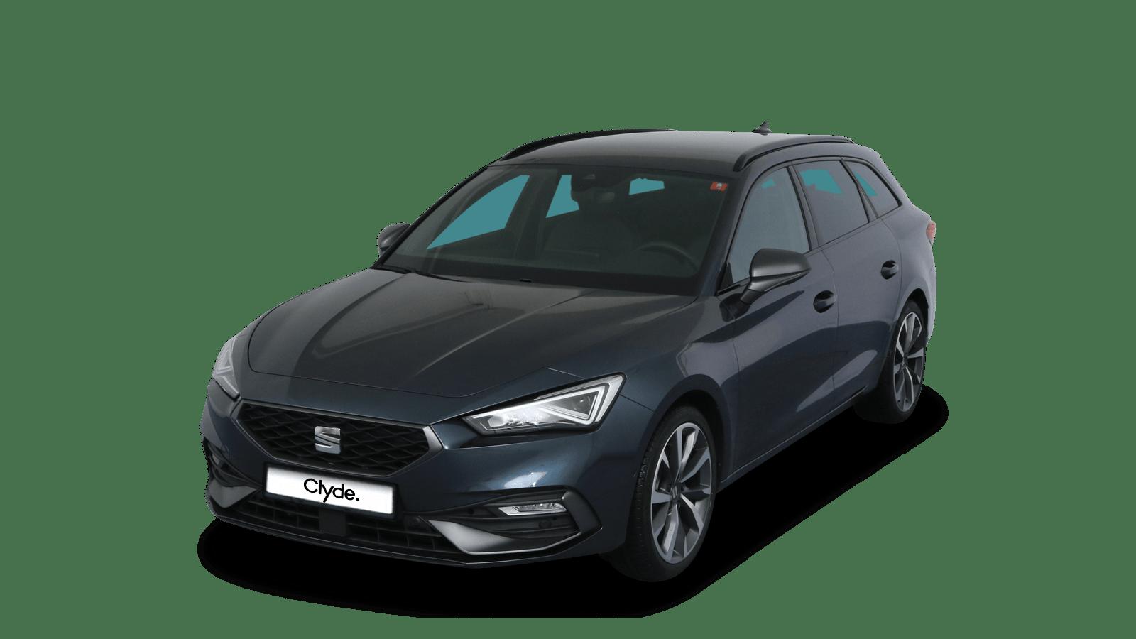 SEAT Leon Sportstourer Grau front - Clyde Auto-Abo