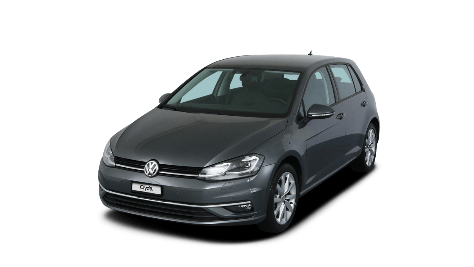VW Golf Grey front - Clyde car subscription