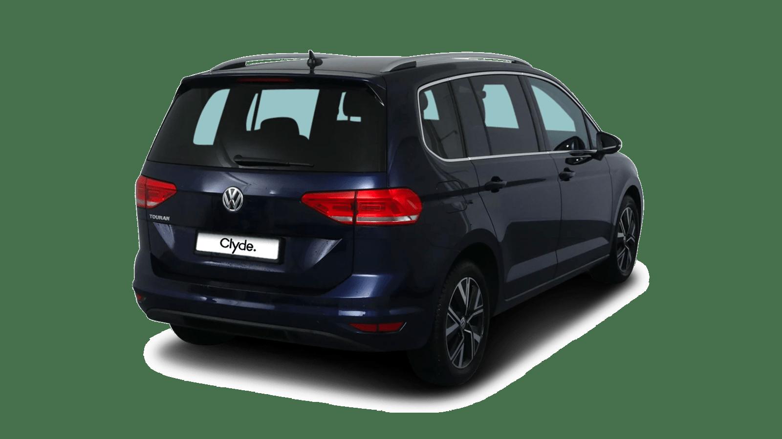 VW Touran Blau front - Clyde Auto-Abo
