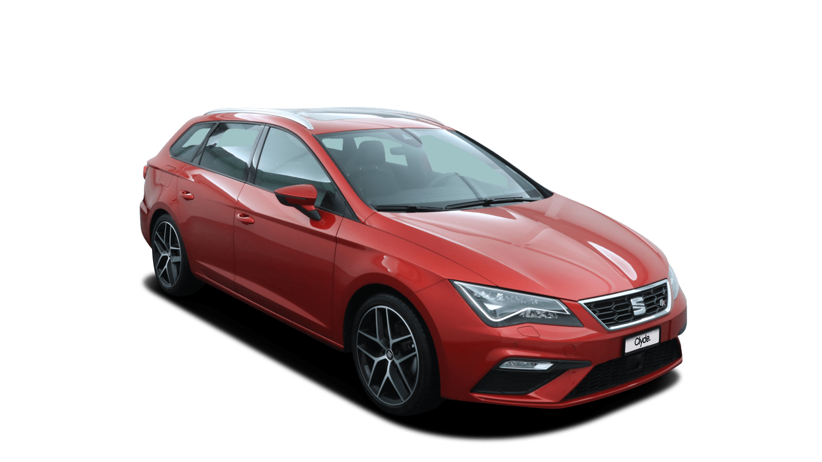 SEAT Leon Rot front - Clyde Auto-Abo
