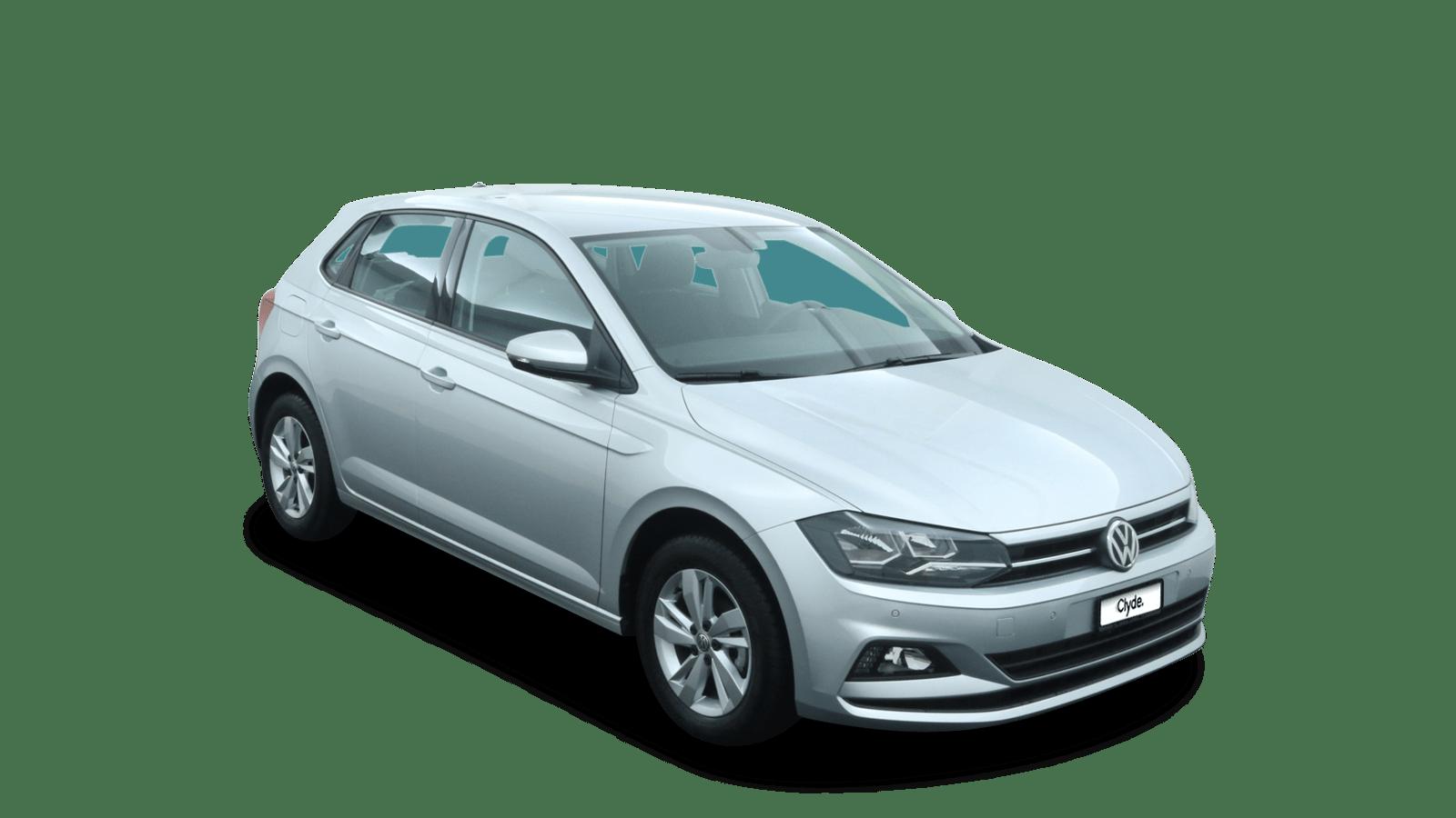 VW Polo Silber front - Clyde Auto-Abo