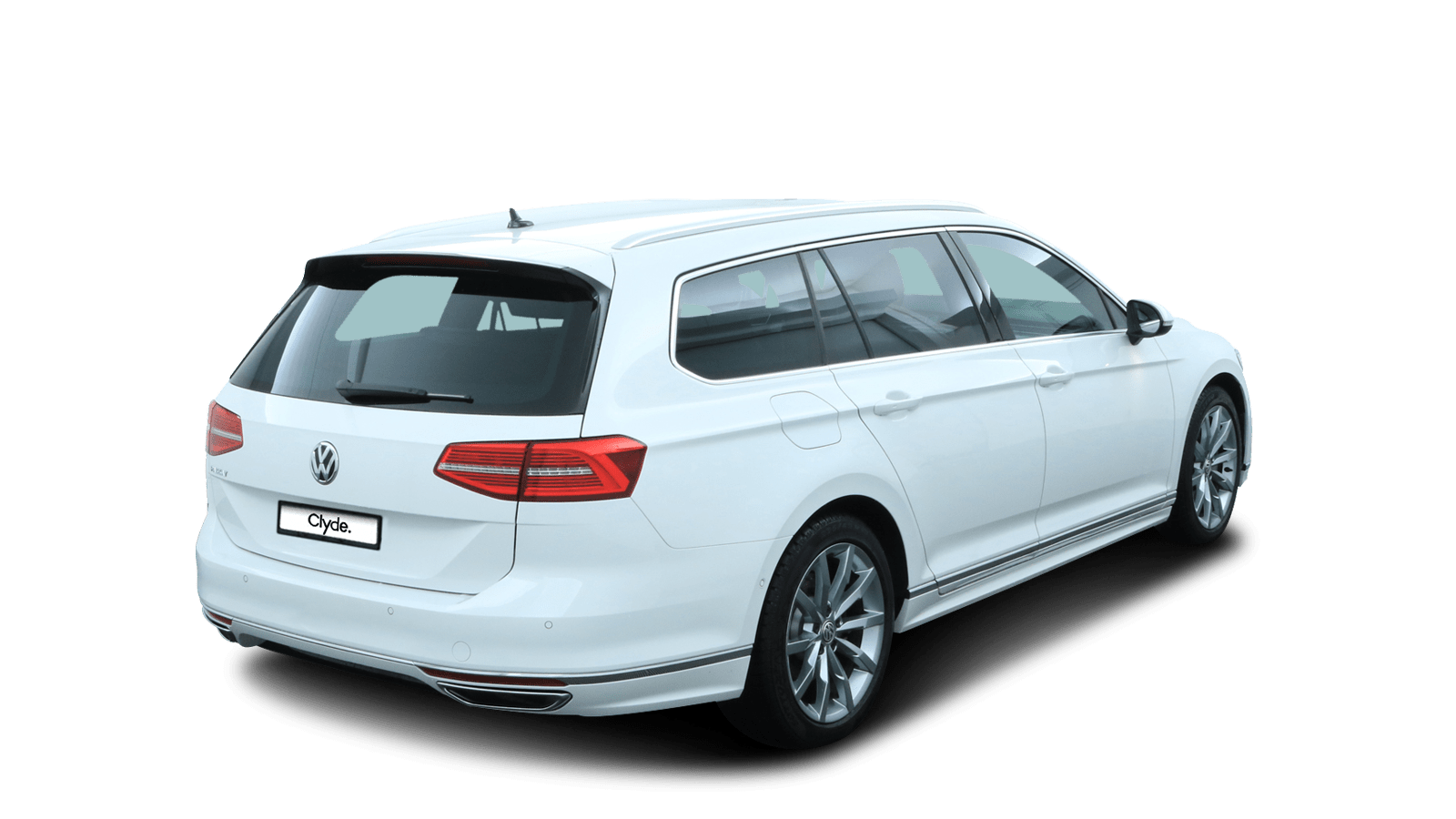 VW Passat Variant White back - Clyde car subscription