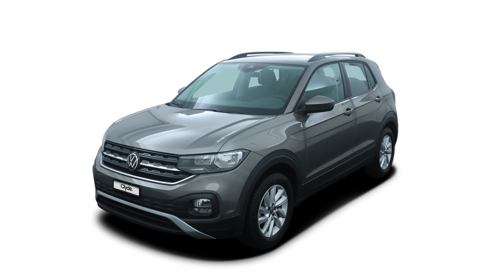 VW T-Cross Grey front - Clyde car subscription