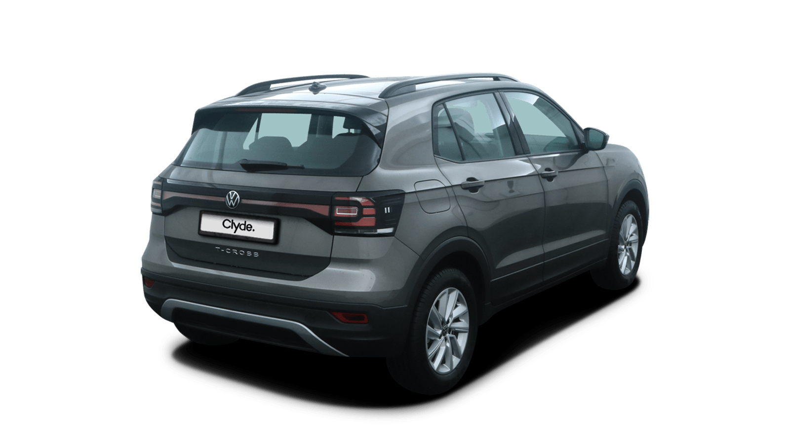 VW T-Cross Grey back - Clyde car subscription