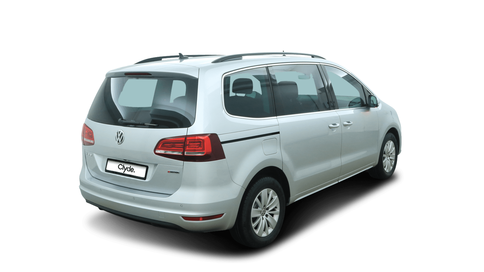 VW Sharan Silver back - Clyde car subscription