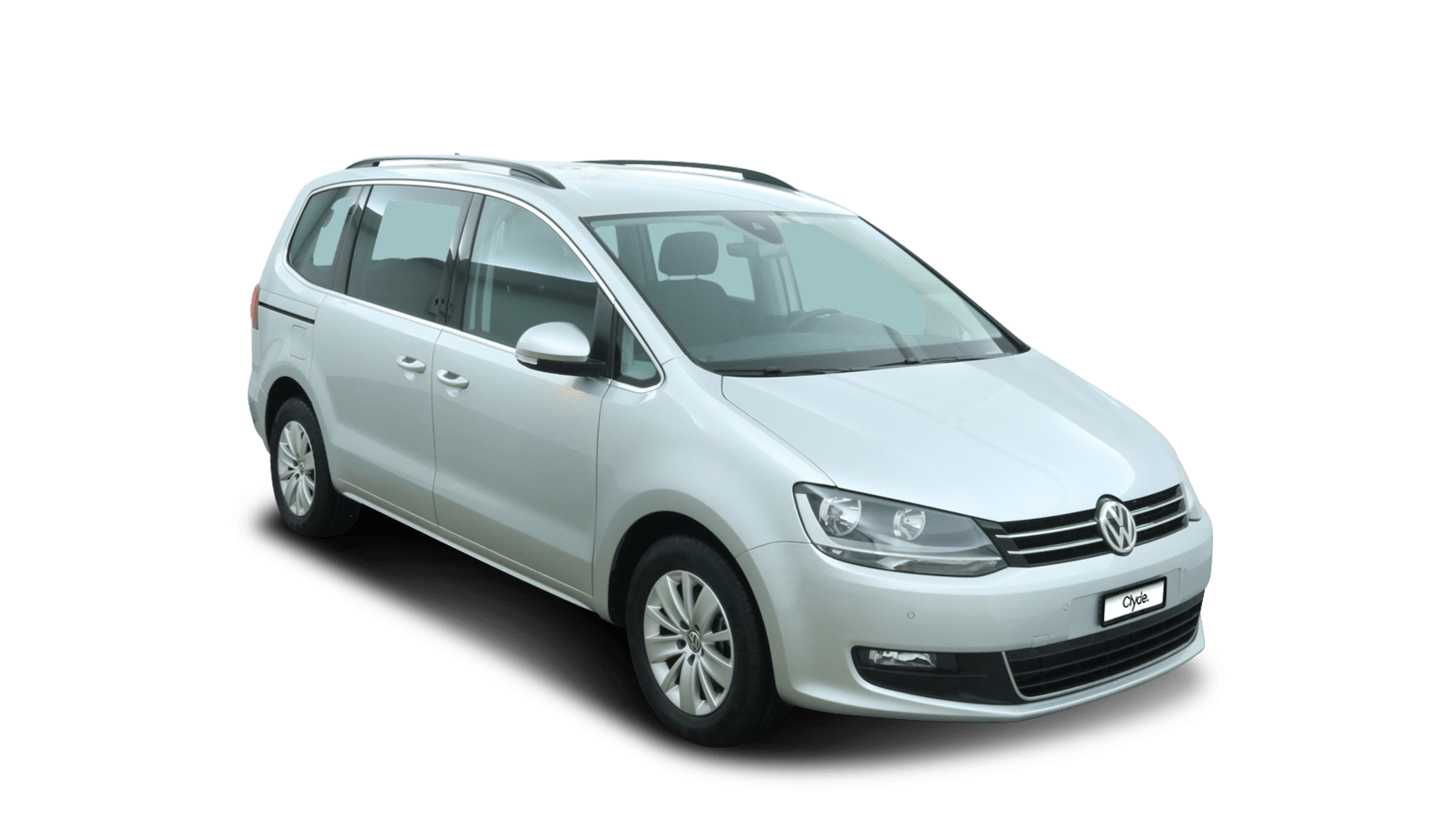 VW Sharan Silver front - Clyde car subscription