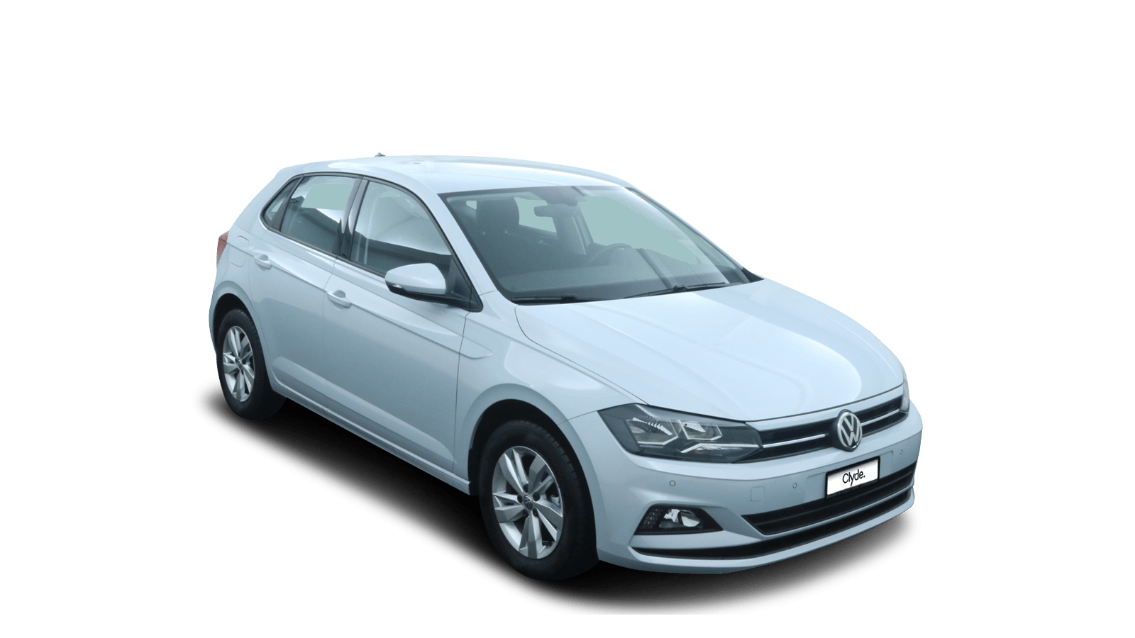 VW Polo Silver front - Clyde car subscription