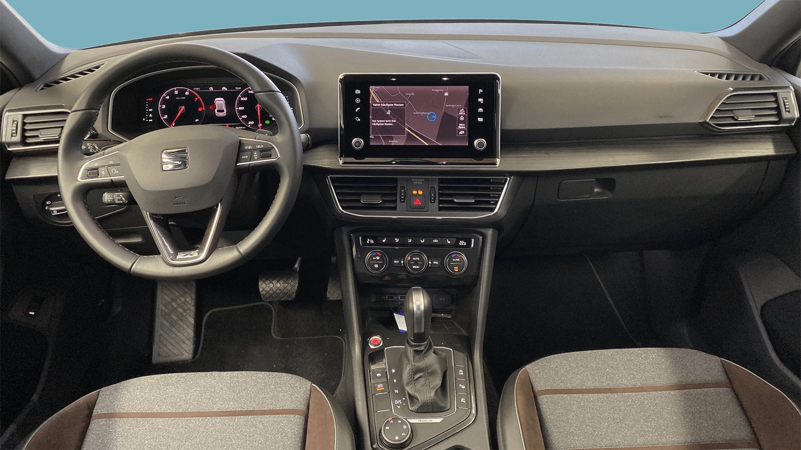 SEAT Tarraco Grey interior - Clyde car subscription