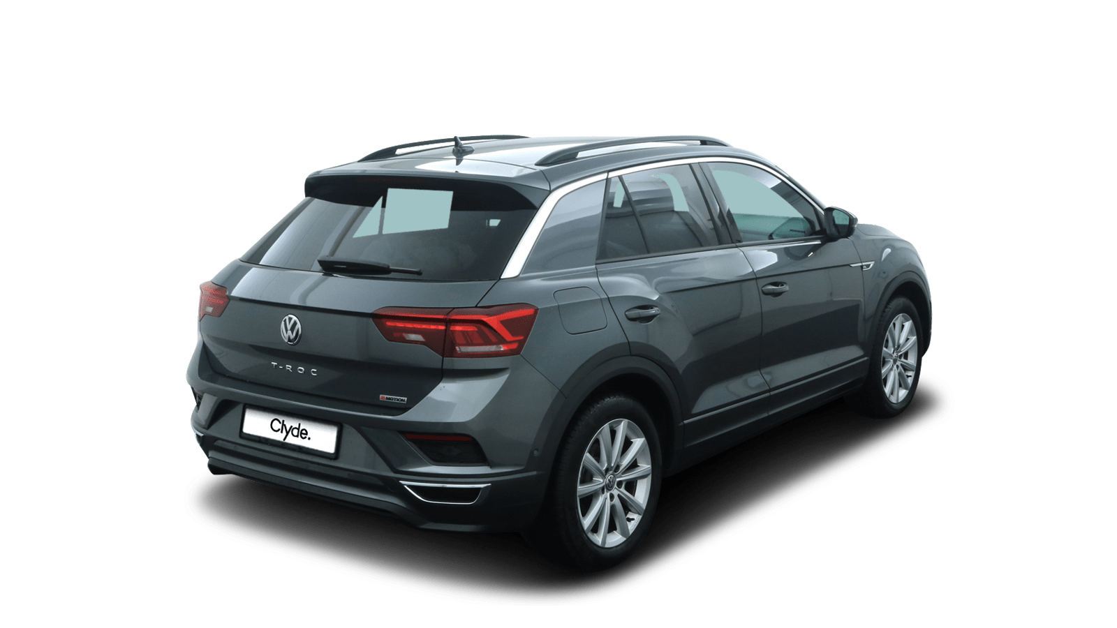VW T-Roc Grey back - Clyde car subscription