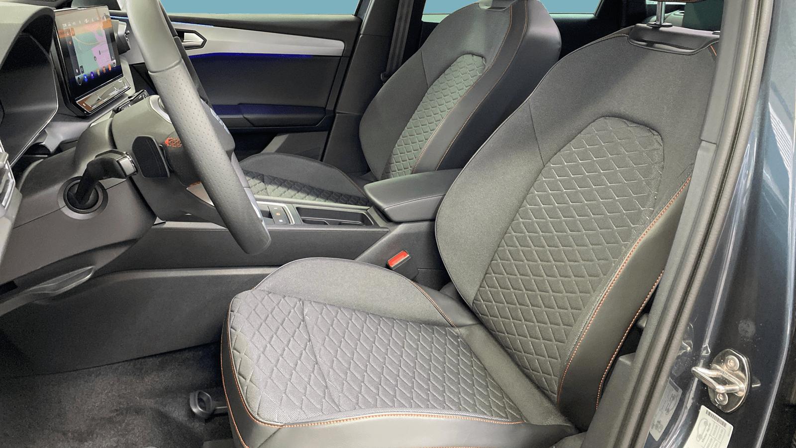 SEAT Leon Sportstourer eTSI Grey interior - Clyde car subscription