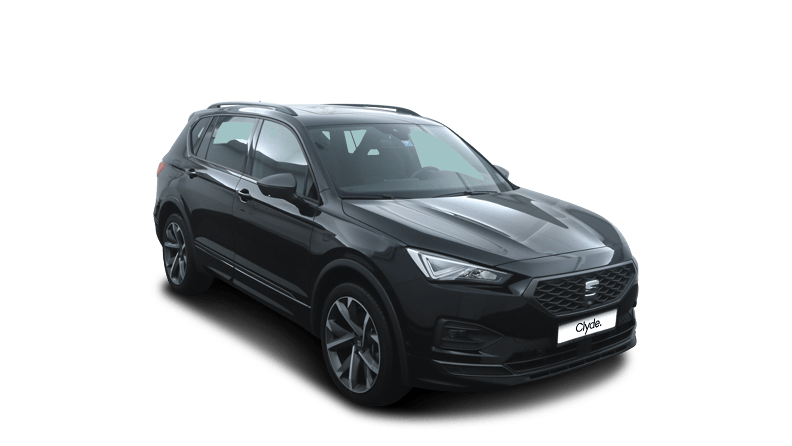SEAT Tarraco Black front - Clyde car subscription
