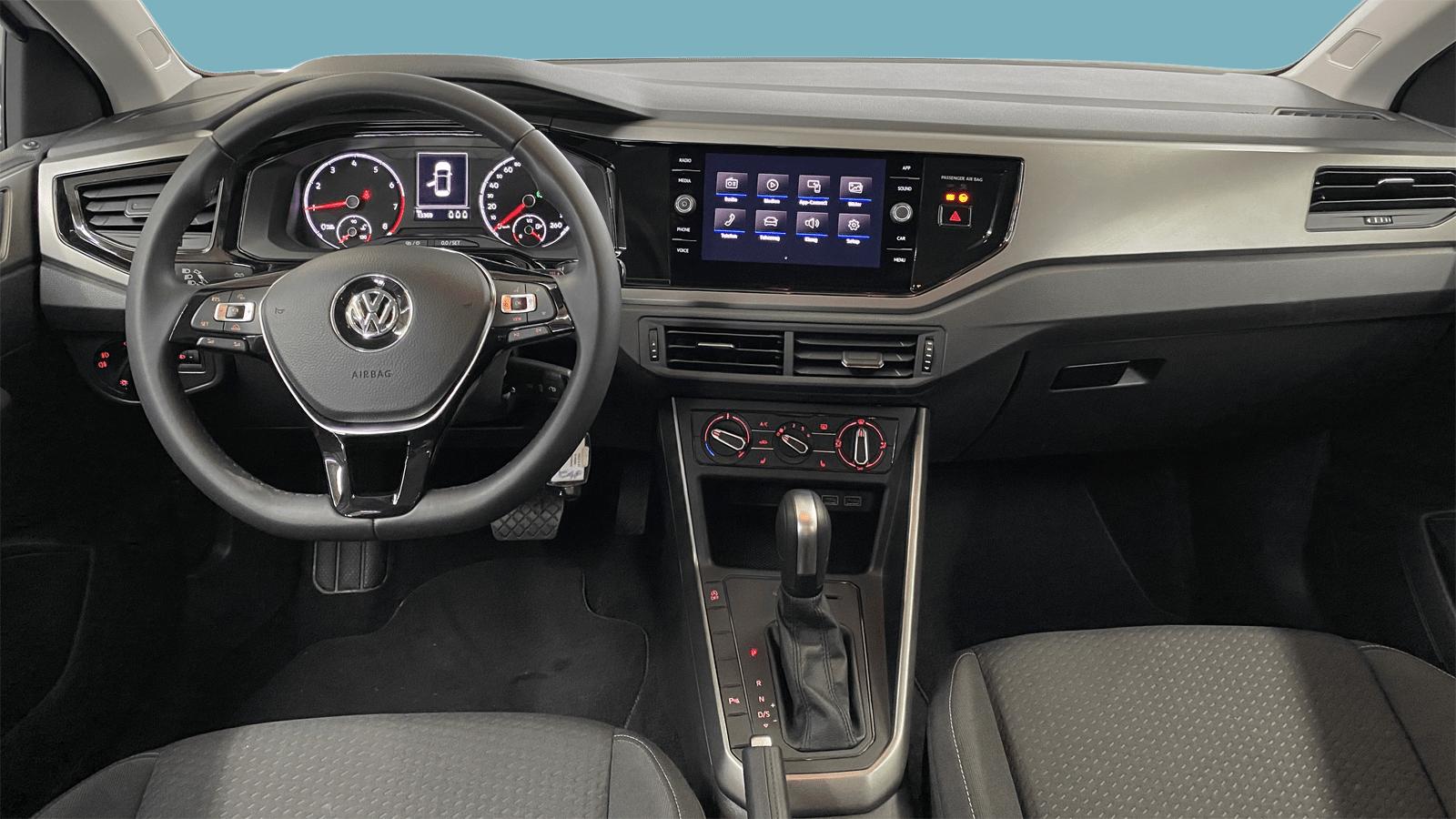 VW Polo White interior - Clyde car subscription