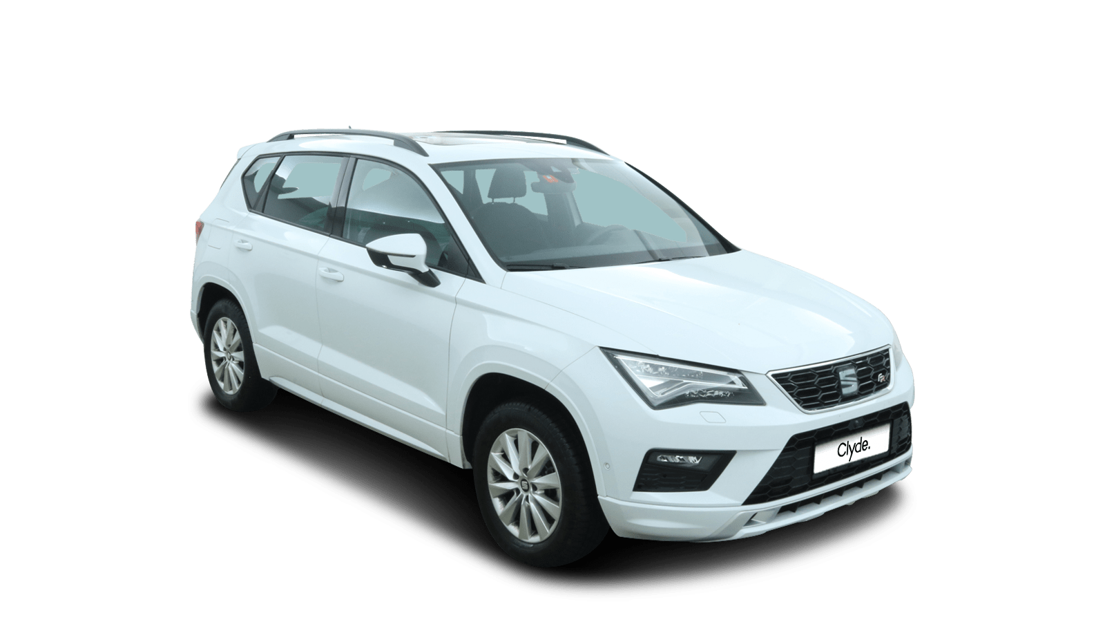 SEAT Ateca White front - Clyde car subscription