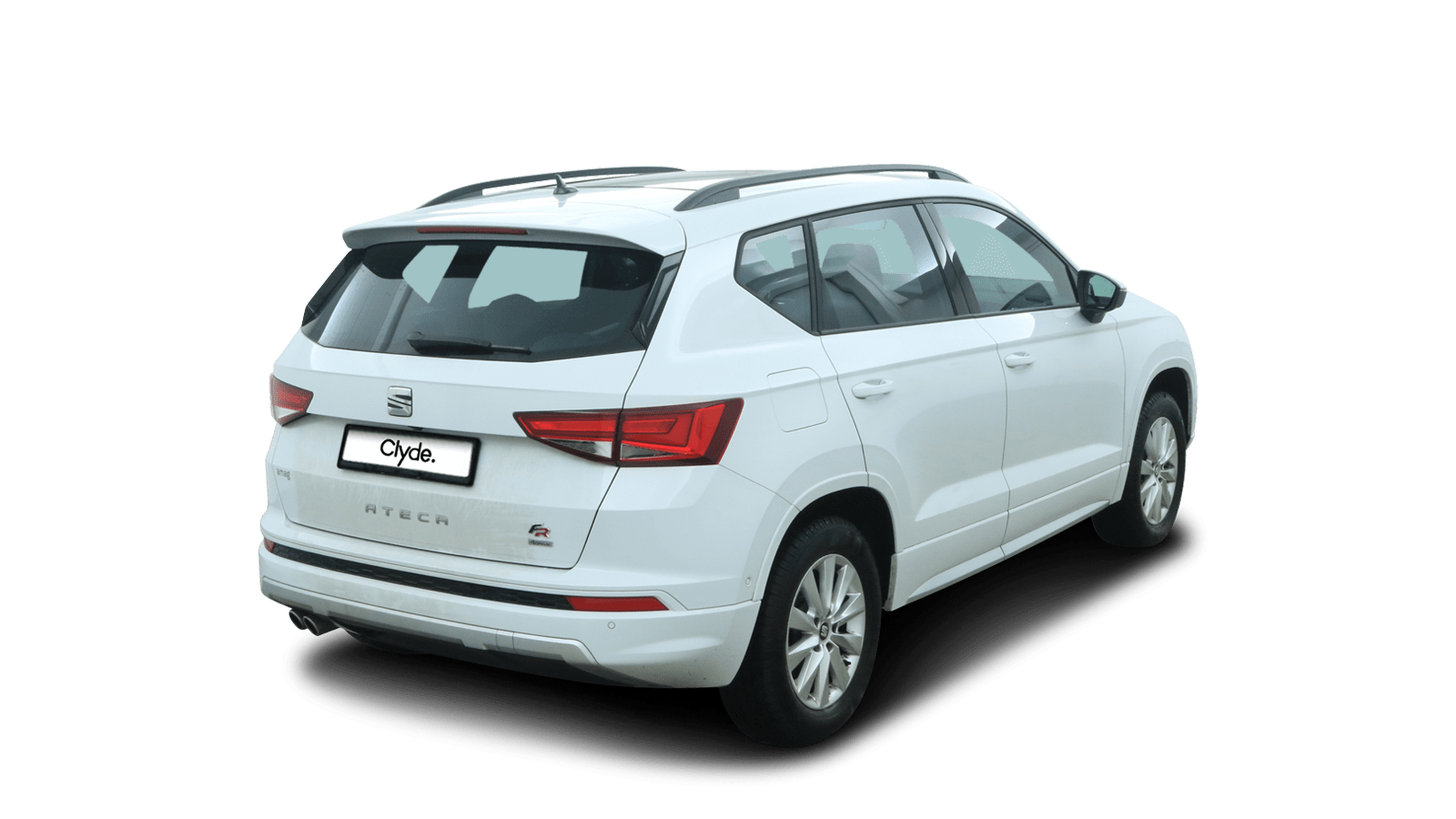 SEAT Ateca White back - Clyde car subscription