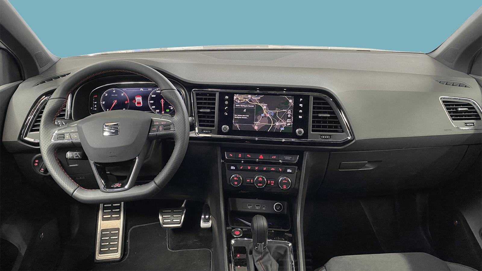SEAT Ateca White interior - Clyde car subscription