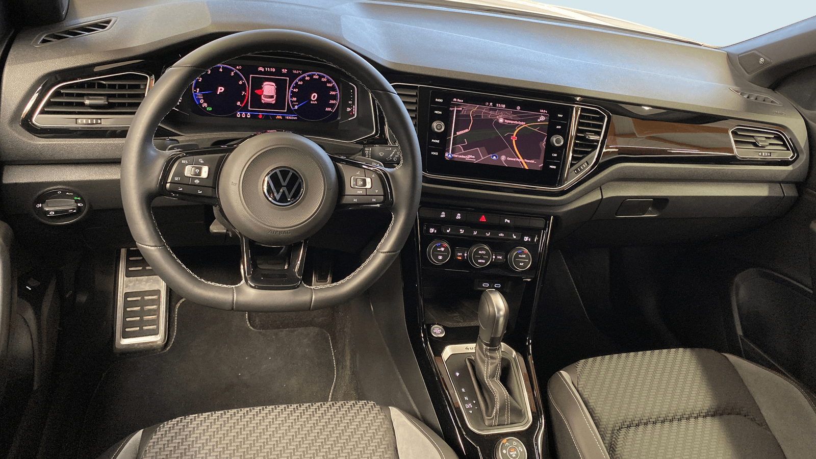 VW T-Roc R White interior - Clyde car subscription