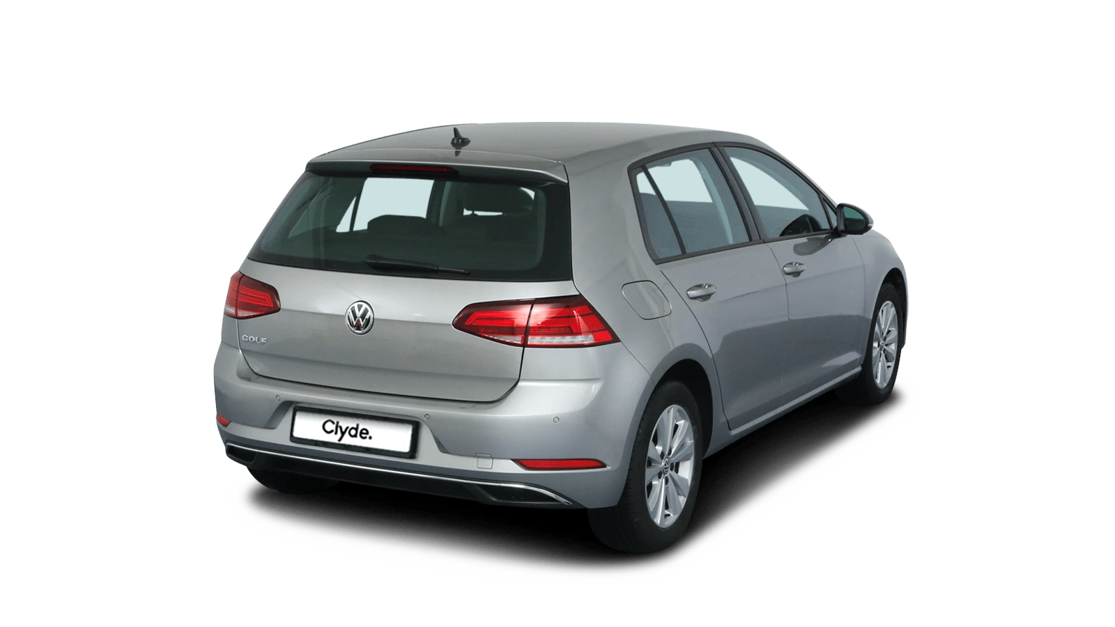 VW Golf Silver front - Clyde car subscription
