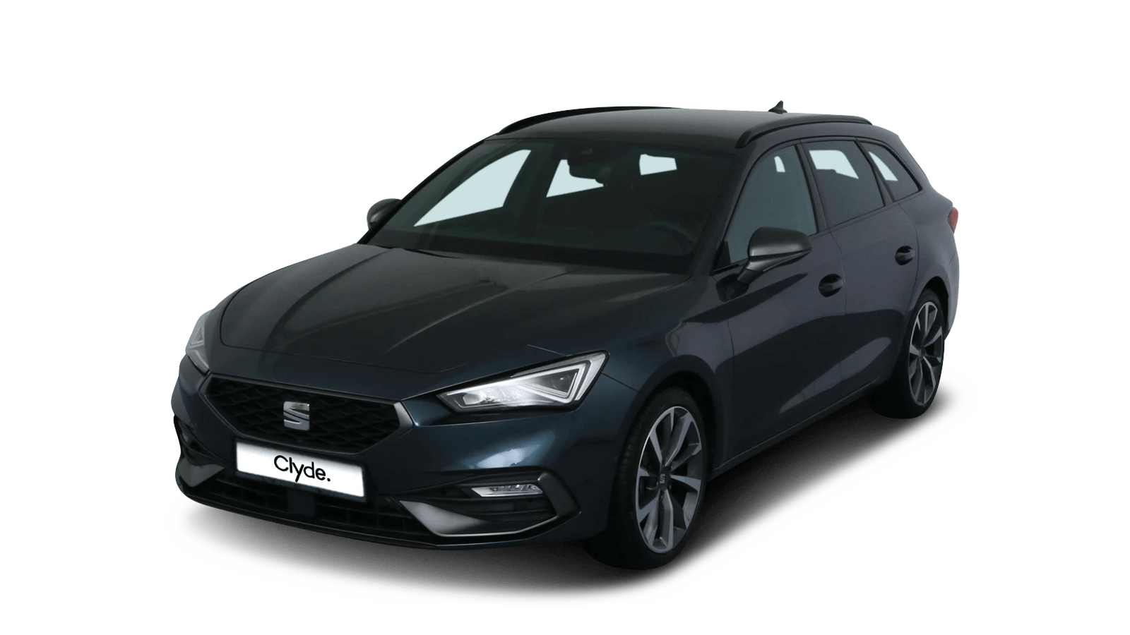 SEAT Leon Sportstourer eTSI Grey front - Clyde car subscription