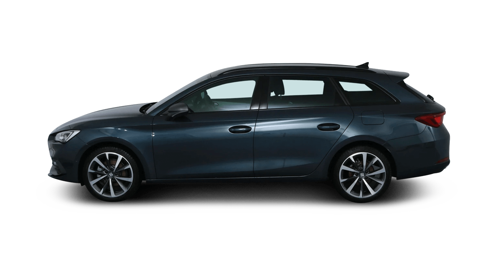 SEAT Leon Sportstourer eTSI Grey back - Clyde car subscription