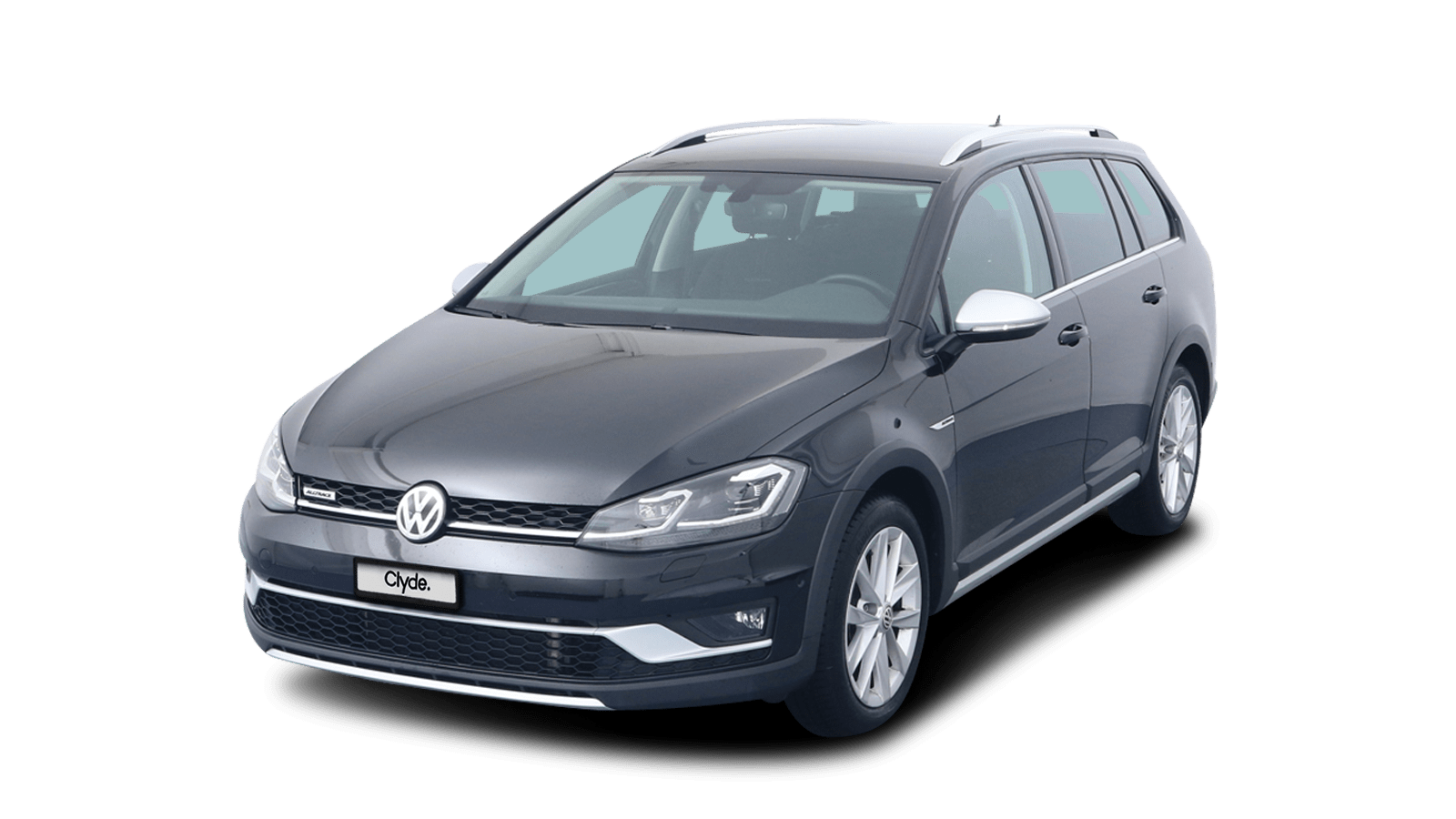 VW Golf Variant Alltrack Black front - Clyde car subscription