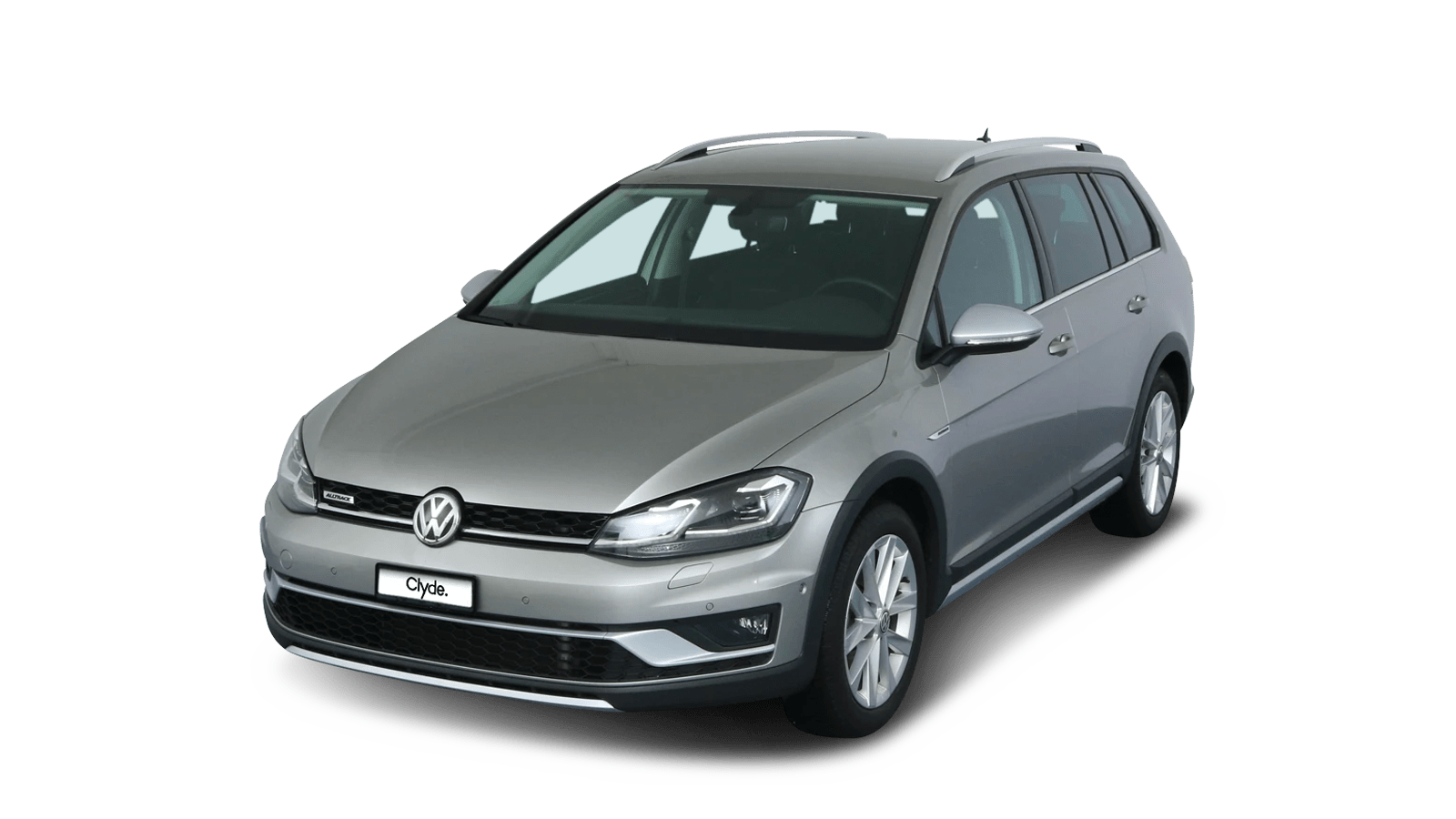 VW Golf Variant Alltrack Silver front - Clyde car subscription